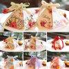 Luxuxblumenmuster-Entwurfs-Dreieck-Papierverpackengeschenk-Kasten mit Farbband