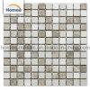Precio de alta calidad de materiales de revestimiento de pared cuadrado de Mármol Crema Marfil baratos Mosaico