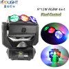 Bewegliche Träger-endlose Rollen-bewegliches magisches Stadiums-Hauptlicht des Kopf-9*12W RGBW 4in1 LED