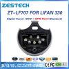 Reproductor de DVD del coche del sistema Wince6.0 para Lifan 330 con la radio