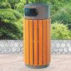 De openlucht Bak van het Afval van het Recycling van de Verkoop Trashbin van de Kamfer Houten Hete