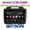Grand écran 9 Witson Android 6.0 DVD pour voiture Kia Sportage (basse avec moteur 2.0L)