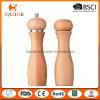 Type en céramique dispositif trembleur de sel en bois de moulin et de poivre