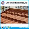 Высокое качество гальванизировало плитку крыши скрепления металла стального листа покрынную камнем