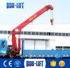 販売のための8t望遠鏡の貨物自動車によって取付けられるクレーン