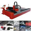Máquina del CNC del corte del laser de la fibra del bajo costo 500W para hacer publicidad