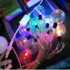 Lâmpada de iluminação de férias mais recentes bola LED luzes de String