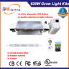 Kits d'éclairage de la culture hydroponique de Double-Ended réflecteur Growlight 630W