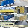 Dfx EPS / laine de verre / laine de roche / panneau sandwich en PU