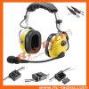 概要の航空機のために取り消すAnrの航空黄色のヘッドセットの騒音