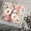 Cadre acrylique de fleur du cadeau clair du rectangle 2017 élégant le plus neuf