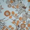 印刷されたポリエステル繭紬