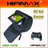 ゲームおよびジッパーカバー(HRD-707B)を持つ7インチのヘッドレストのDVDプレイヤーUSD69-USD76