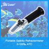천 ATC (HZY030) 당 파란 보물 염분 굴절계 0~100