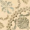 Rustieke Tegel van de Vloer van de Tegel van het Porselein van de Tegel van de bloem de Kleur Verglaasde