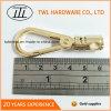 Comercio al por mayor acabado dorado de la luz el gancho de resorte de metal para bolsa Hjw1802