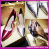 Top Quality Trendy Women Snake Pattern Party/Evening Shoes Leather High Heel Shoes Women Dress Shoes (ASD004)