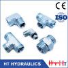China-männlich-weiblicher hydraulischer Schlauch-Befestigungs-Adapter