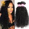 Человеческие волосы Tfh-1001 волос девственницы 100% Kinky курчавые