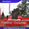 Kundenspezifische Polyester-Zaun-Ineinander greifen-Fahne für das Bekanntmachen und Förderung