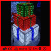 Коробка орнамента рождества мотива света украшения рождества СИД