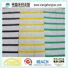 Hilados de distintos colores tafetán de seda de tela con banda horizontal