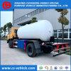 Caminhão de tanque de enchimento de Dongfeng 4X2 10000L 5tons 10m3 LPG com o distribuidor para a venda
