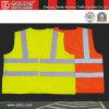 Tricot 100% do poliéster/veste de confeção de malhas da segurança do Workwear (CC-V03)