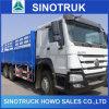 エチオピアのための6X4 HOWO 371HPのトラックシャーシの貨物トラック