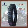 350-16, lange Lebensdauer, inneres Gefäß des Nylonmotorrad-6pr, Motorrad-Reifen