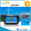 24V/12V 10AMP USB-5V/3A 태양 전지판 전압 조정기 Rtd 10A