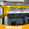 Longue grue de potence électrique de temps de travail avec l'élévateur de câble métallique pour traiter le matériau dans l'atelier