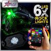 Indicatore luminoso universale del telaio del CREE 9W IP68 LED di colore di RGB di controllo di Bluetooth Smartphone APP nell'ambito dell'indicatore luminoso del camion dell'automobile LED per la jeep del crogiolo di camion