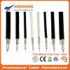 De alta calidad de 75 ohmios Cable RF CATV Cable coaxial RG6 Quad