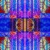 カスタムデジタル印刷100%の絹のスカーフ(F13-0036)