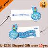 Привод вспышки USB логоса политики движения для подарков промотирования (YT-TP)