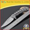 Нож лезвия профессиональной отделки чернением складывая тактический карманный (RYST0040C)