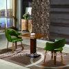 Conjunto de los muebles del restaurante de la madera con la silla tapizada y el vector sólido de la mejora (SP-CT784)