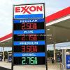 Muestra del precio de la gasolina de la pantalla de visualización de LED