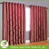 Cortinas e cortinas baratas do quarto Cortinas com motivos vermelhos