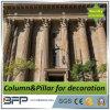 ホーム装飾のための石造りの切り分ける白い大理石のローマのコラム