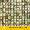 Het gele Mozaïek van het Glas van de Mengeling in de Vorm van de Bel