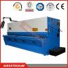 La norma europea la elaboración de metales de cizalla guillotina hidráulica con alta precisión de la guía lineal y motor Siemens