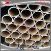 Tubo de acero negro de doblez fácil de ERW para hacer la parte trasera de los muebles