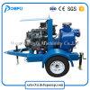 Qualitäts-motorangetriebene Dieselackerland-Bewässerung-Wasser-Pumpe mit großem Fluss