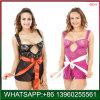 La Chine prix bon marché de plus la taille de lingerie sexy avec conception Tansparent