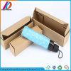 Caixa de presente de empacotamento barato impressa do guarda-chuva ondulado