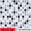 Selbstklebendes Mosaic Sticker Tiles für Bathroom Decor und Kitchen Decor