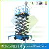 plate-forme hydraulique mobile électrique de travail aérien de 5m-14m