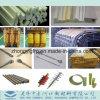Bobinado Pultruded Faliment o FRP GRP Tubo de aislamiento de fibra de vidrio
